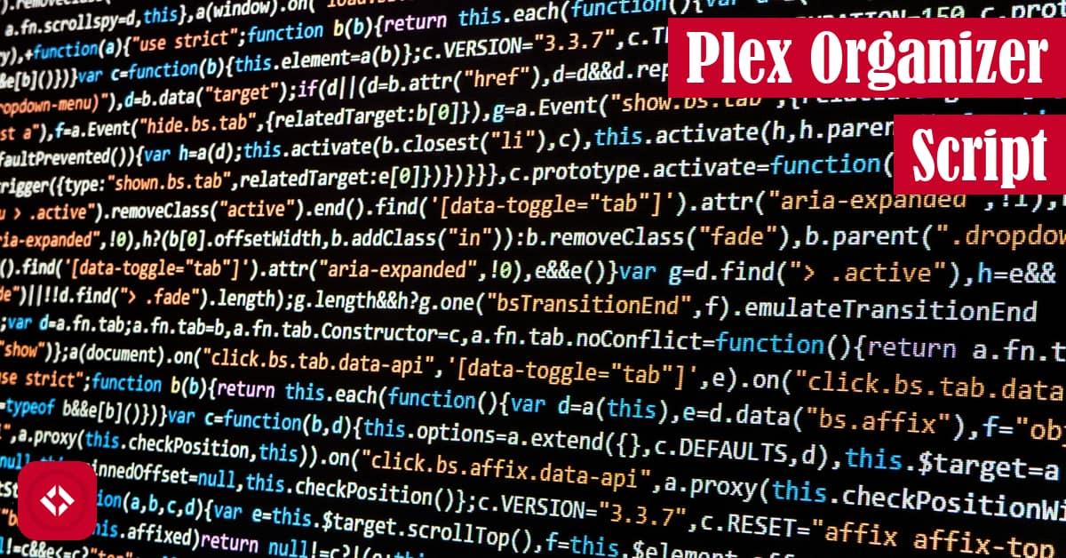 Plex Organizer Script Featured Image