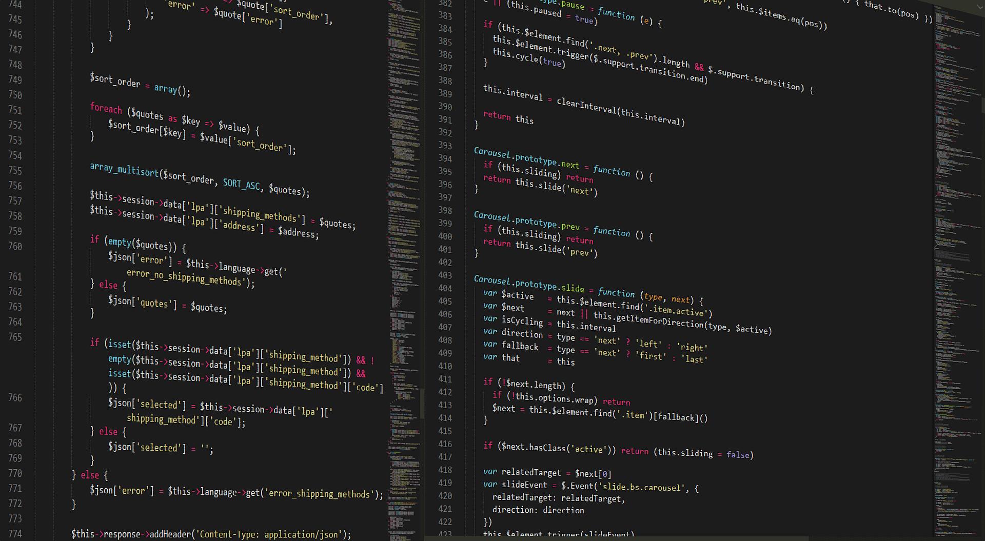 JavaScript Screenshot