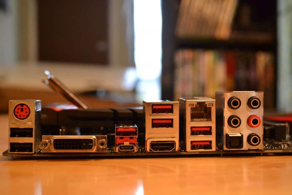 MSi Gaming M5 Motherboard Ports