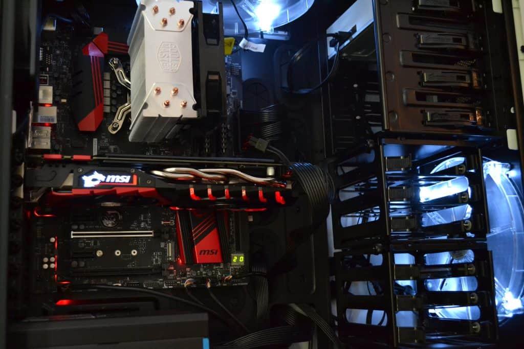 MSi GTX 1070 Installed