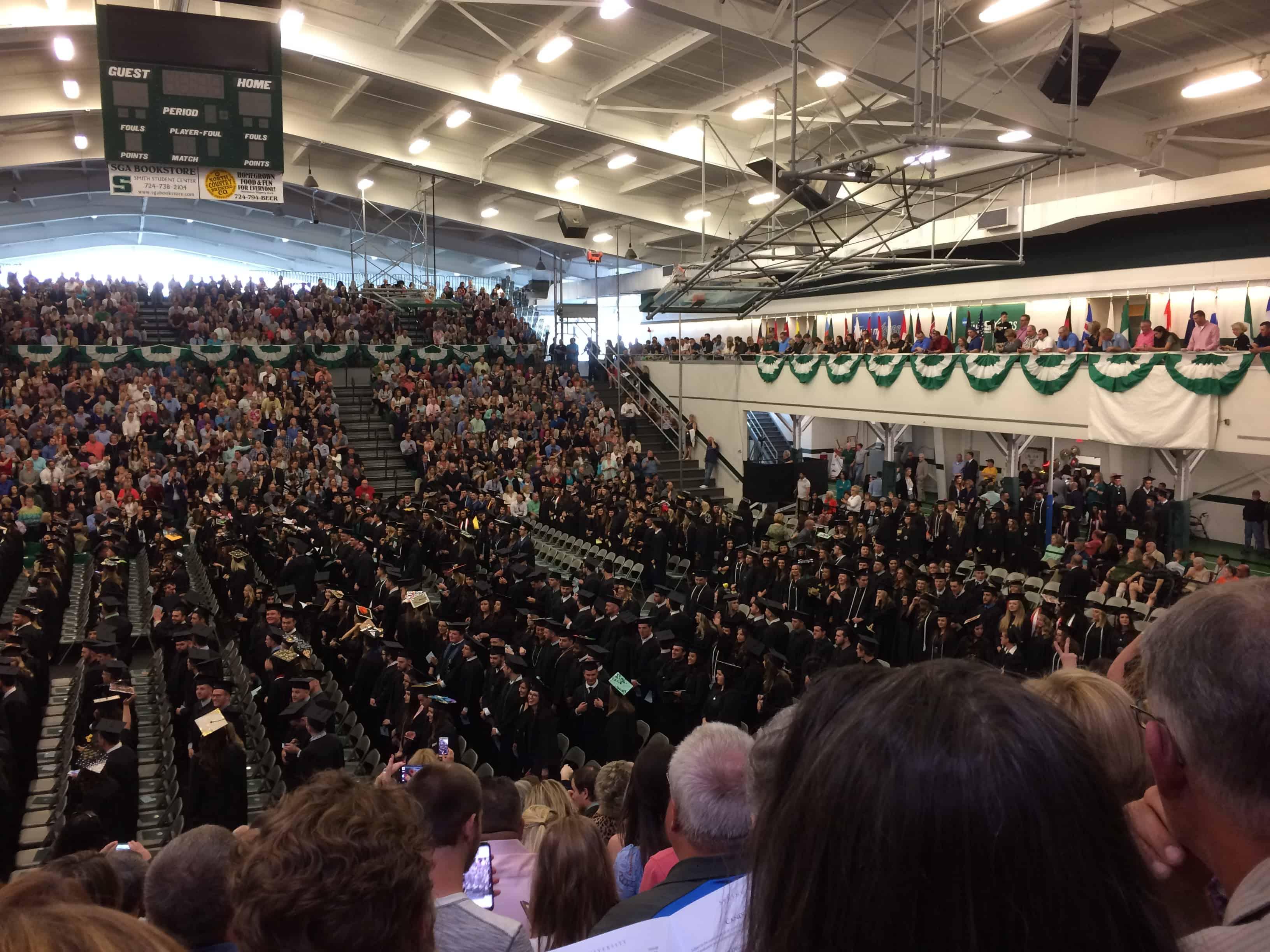 SRU Graduation