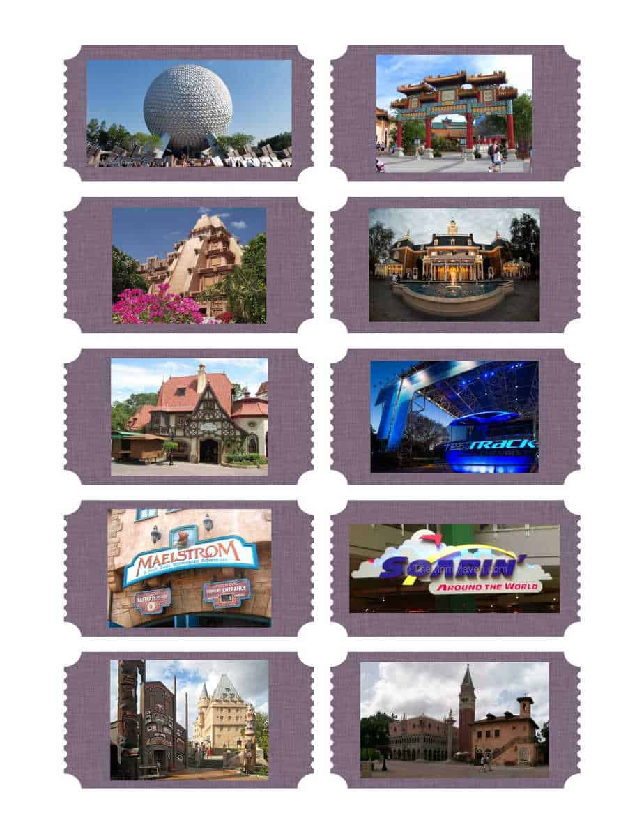 Epcot Scavenger Hunt Tickets