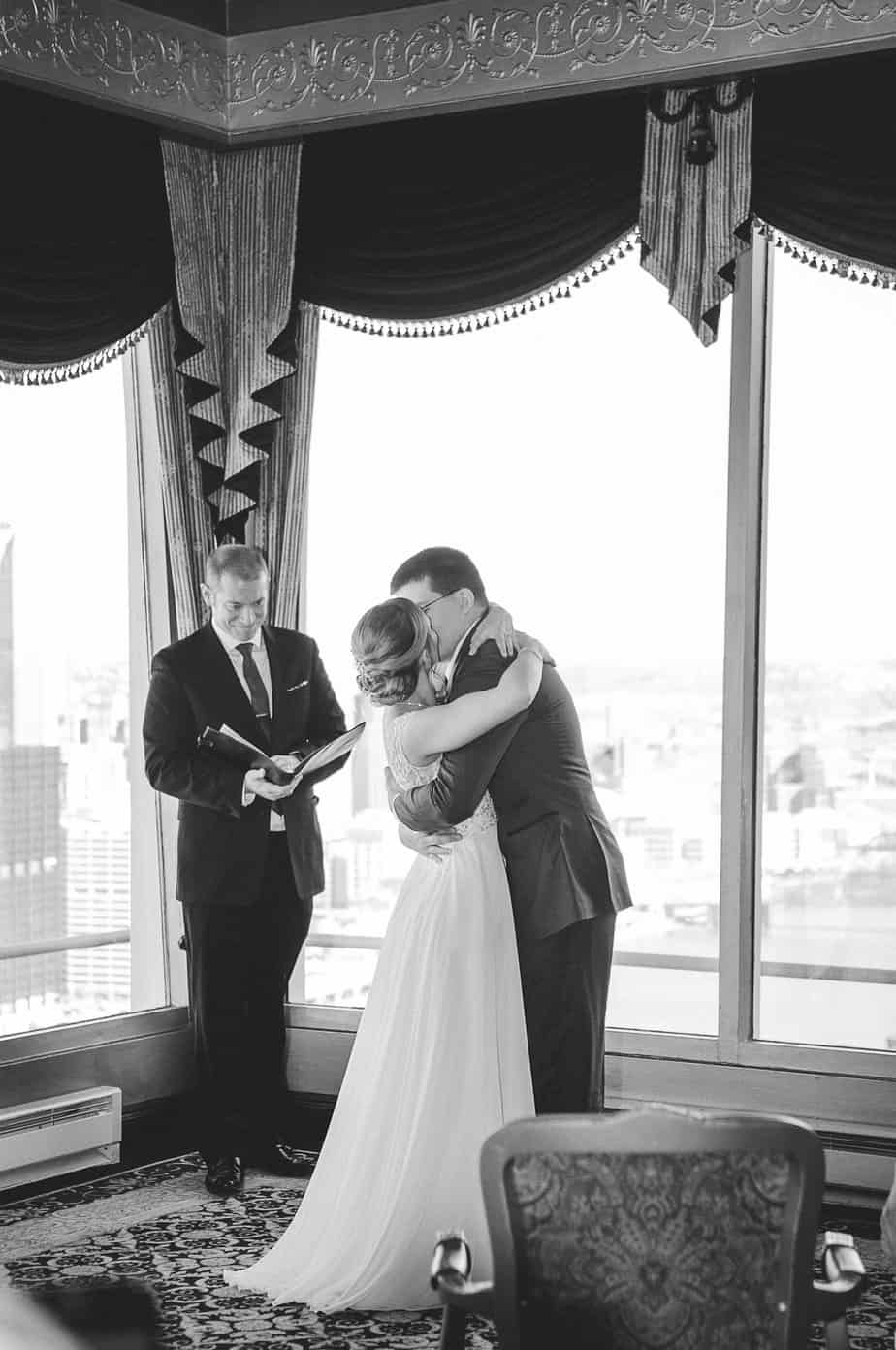 Grifski Wedding Kiss