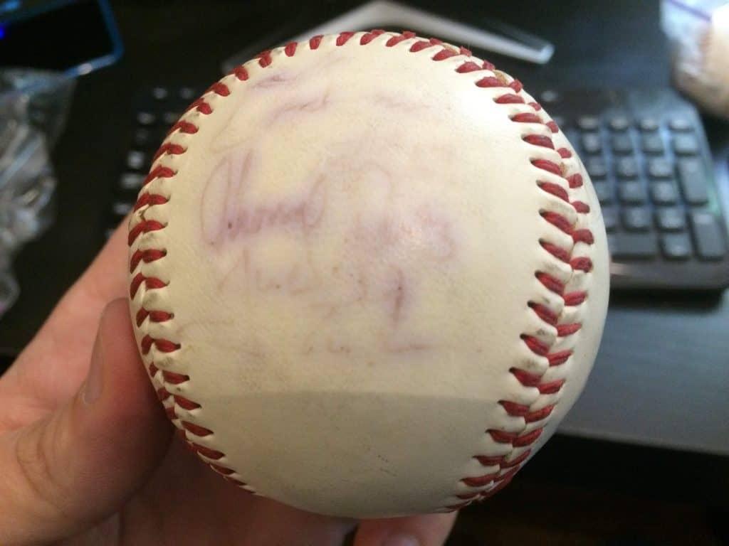 Seawolves Signed Baseball Side 4