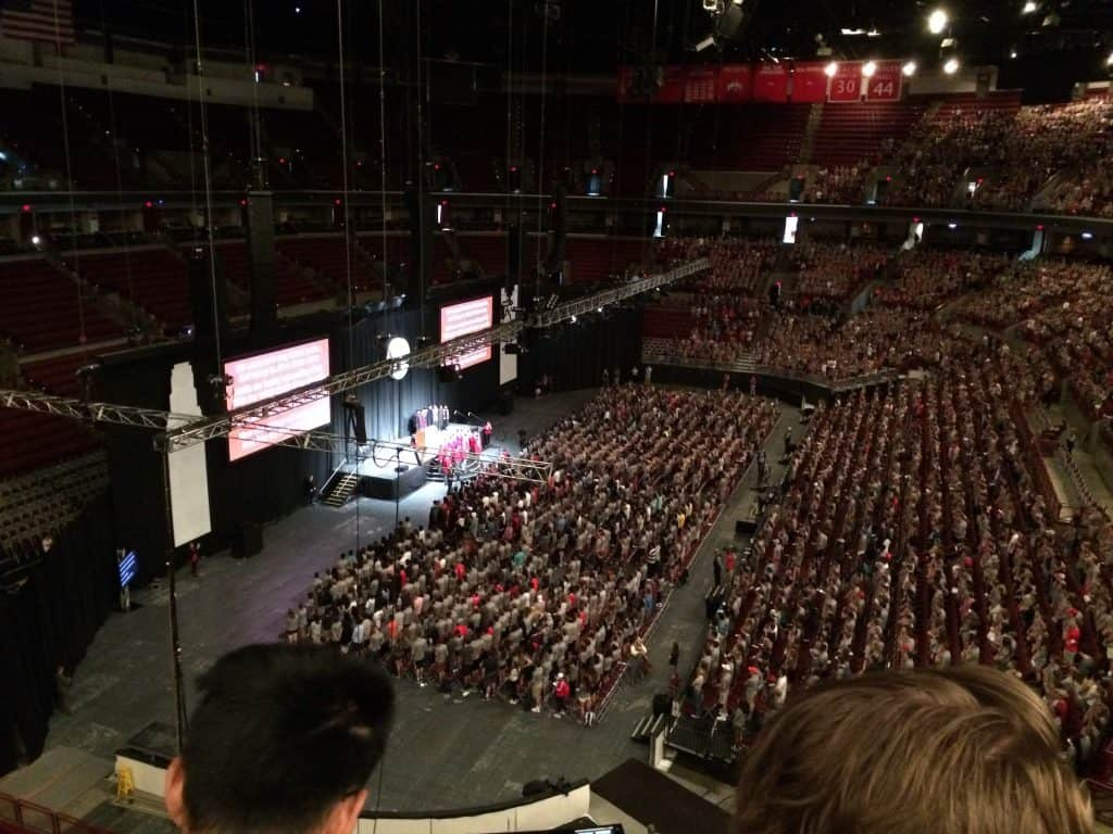 The Inside of the Schottenstein Center
