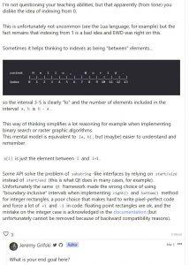 Indexing By Zero: Part 2