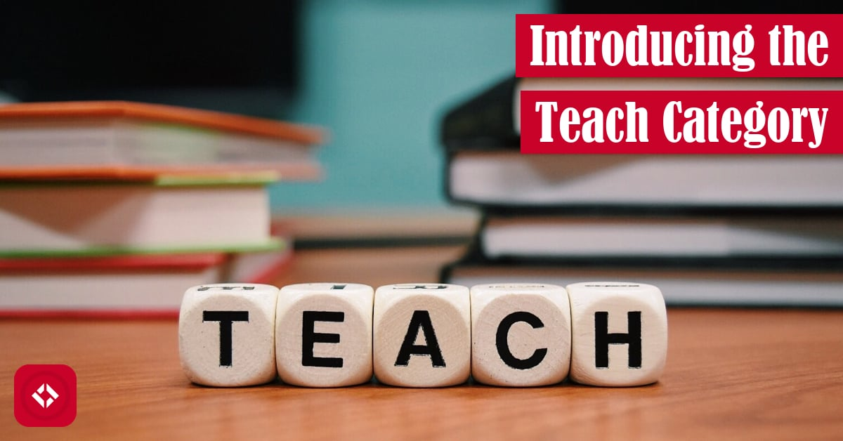 Introducing the Teaching Category Featured Image