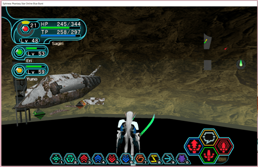 Seeing to the End of the Universe in Phantasy Star Online