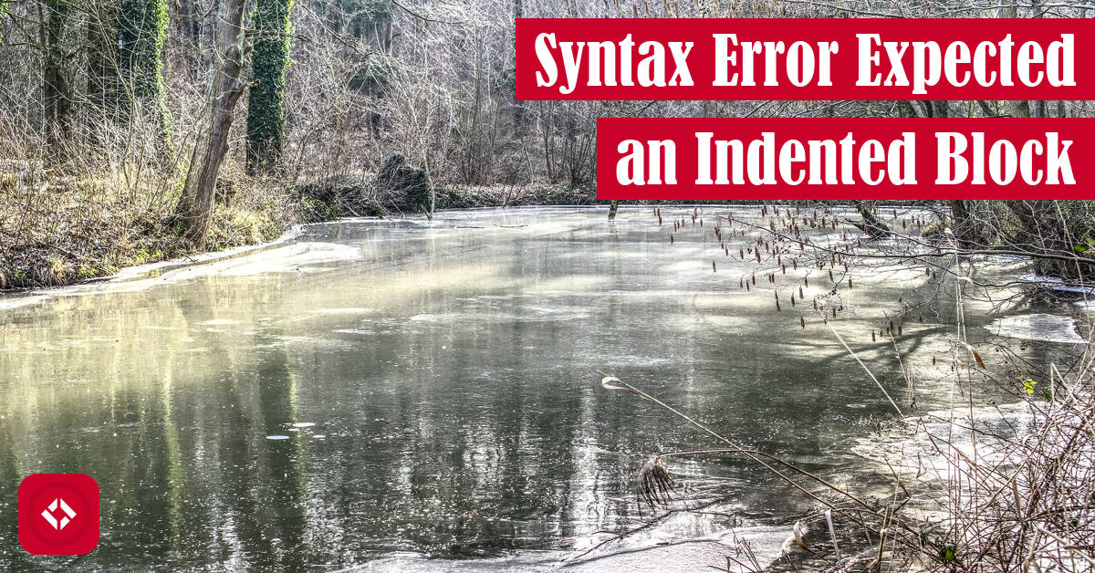 Syntax Error: Expected an Indented Block Featured Image