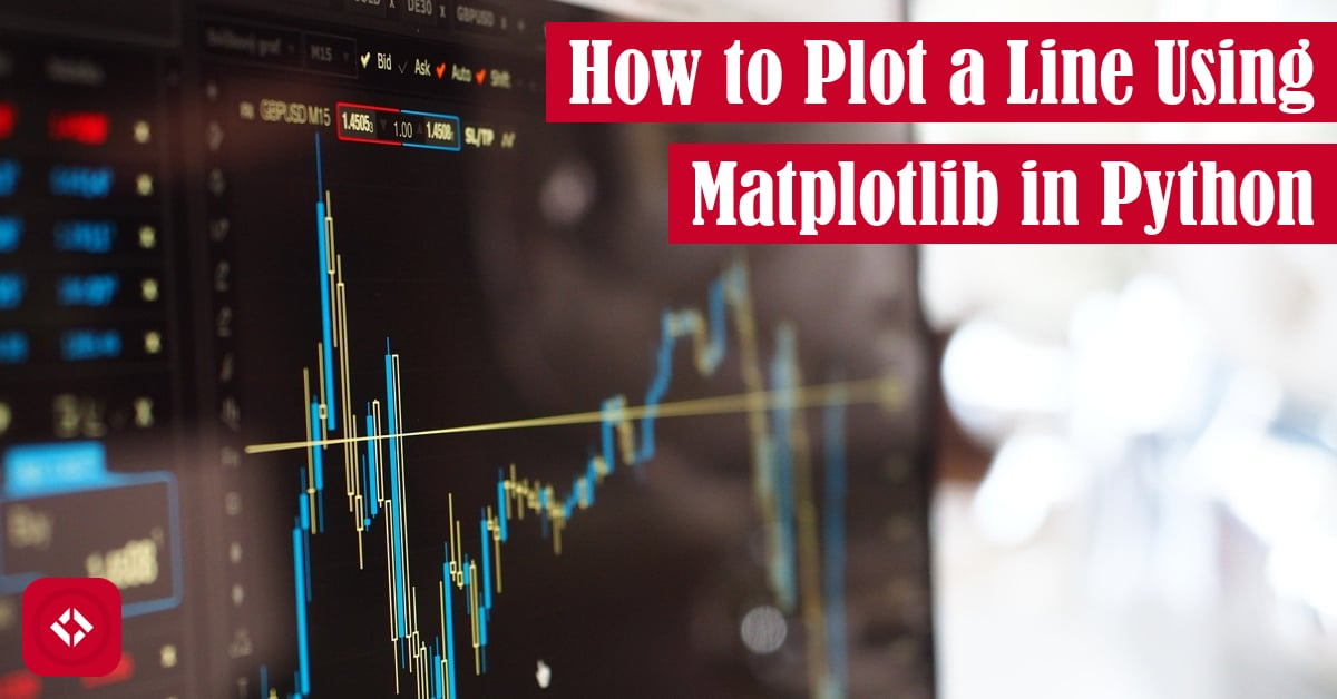 How to Plot a Line Using Matplotlib in Python Featured Image
