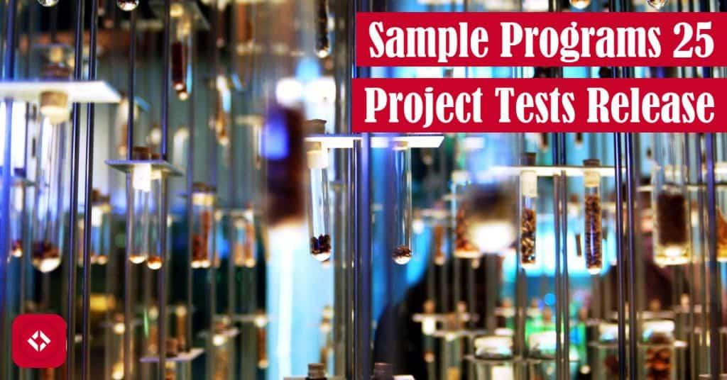 Sample Programs 25 Project Tests Release Featured Image