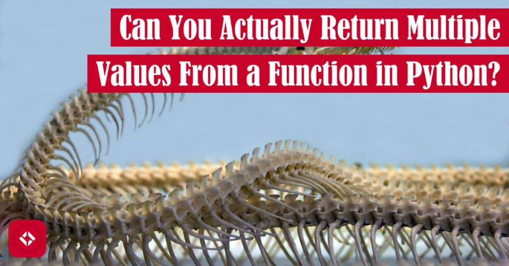 Can You Actually Return Multiple Values From a Function in Python? Featured Image
