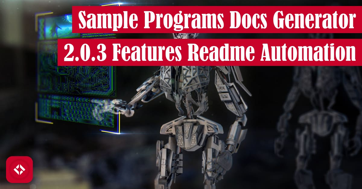 Sample Programs Docs Generator 2.0.3 Features README Automation Featured Image