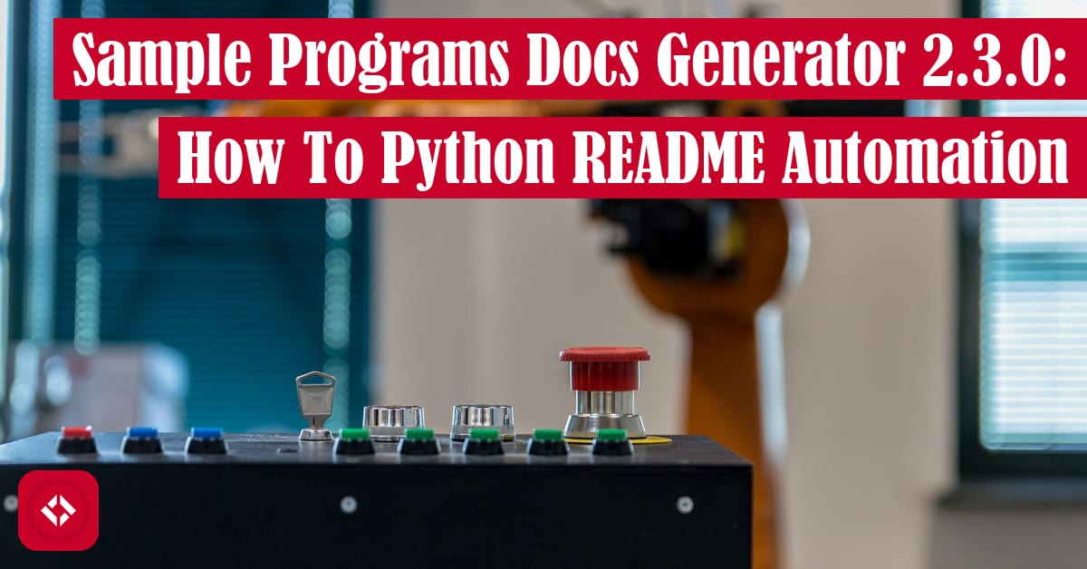 Sample Programs Docs Generator 2.3.0: How to Python README Automation Featured Image